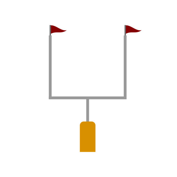 Best Goal Post Illustrations, Royalty-Free Vector Graphics ...