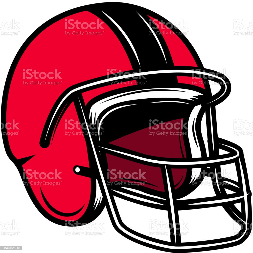 American Football Helmet Design Element For Label Emblem Sign Poster ... f9fa98cf8