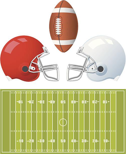 Best Football Helmet Illustrations, Royalty-Free Vector ...