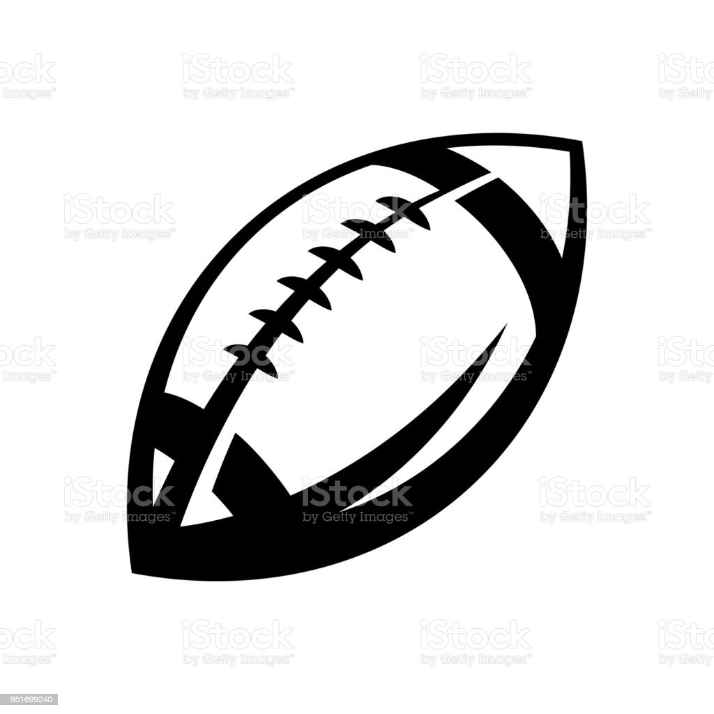 American Football Icon Stock Vector Art More Images Of American