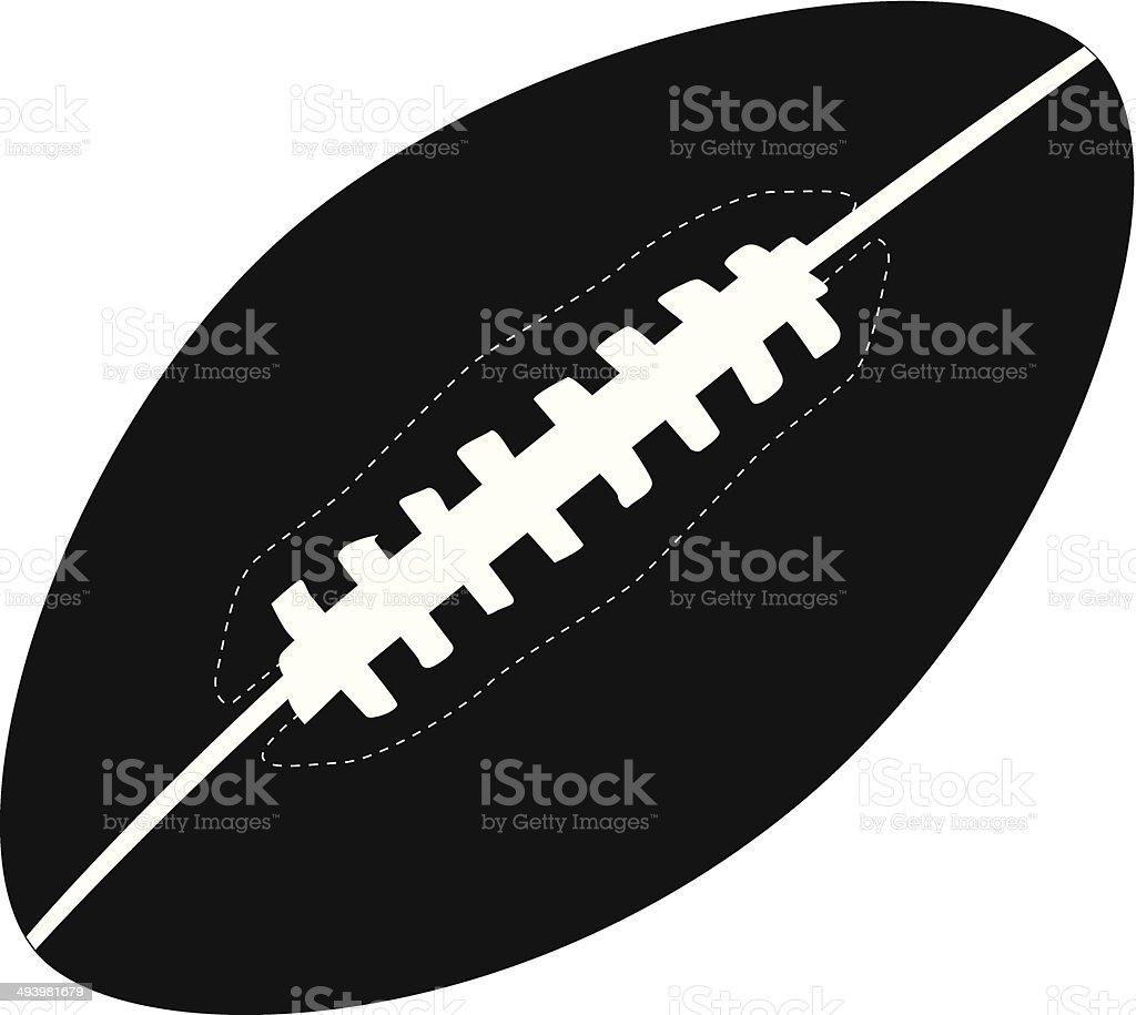american football illustration royalty-free stock vector art