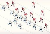 istock American Football Illustration 521651665