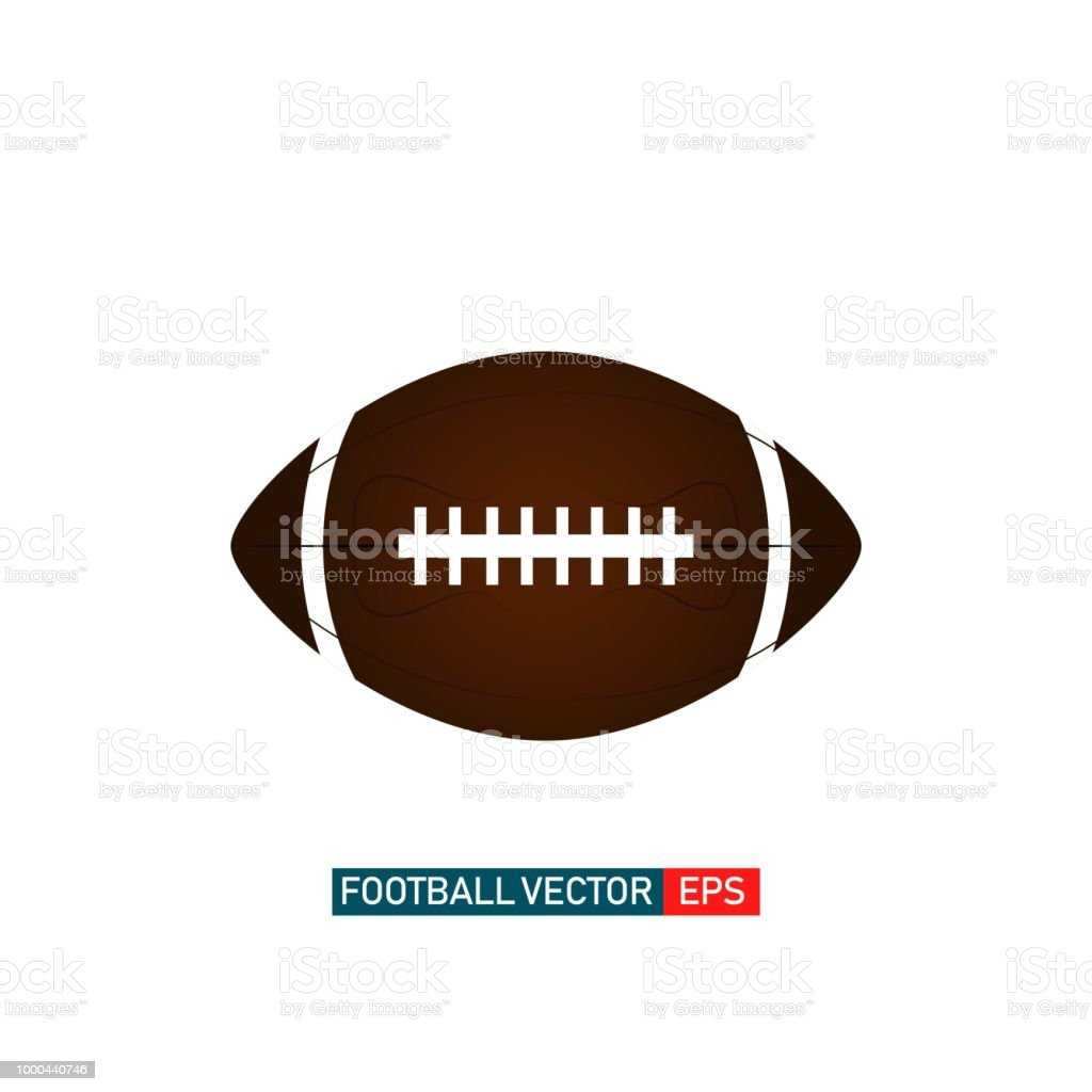 Football Template | American Football Logo Vektorgrafik Template Design Stock Vektor Art