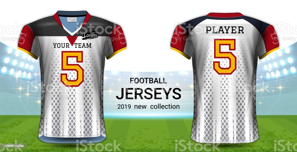 Download Get American Football Mockup Back View Pics Yellowimages ...