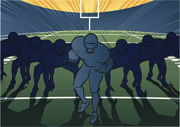 Royalty Free Football Lineup Clip Art, Vector Images ...