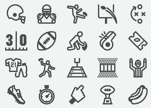 American Football Sport Icons