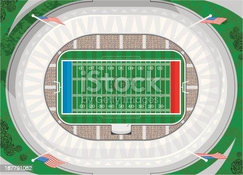 American Football Stadium