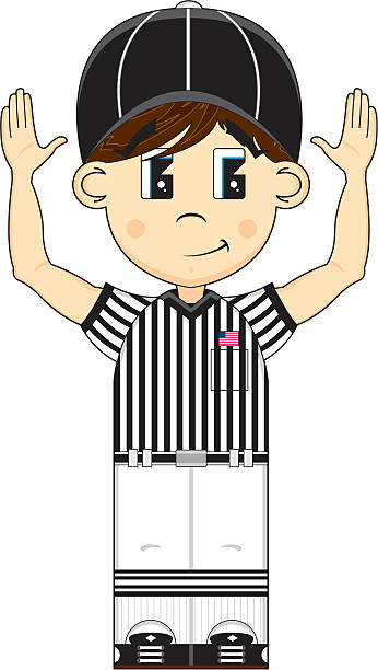 Best American Football Referee Illustrations, Royalty-Free ...