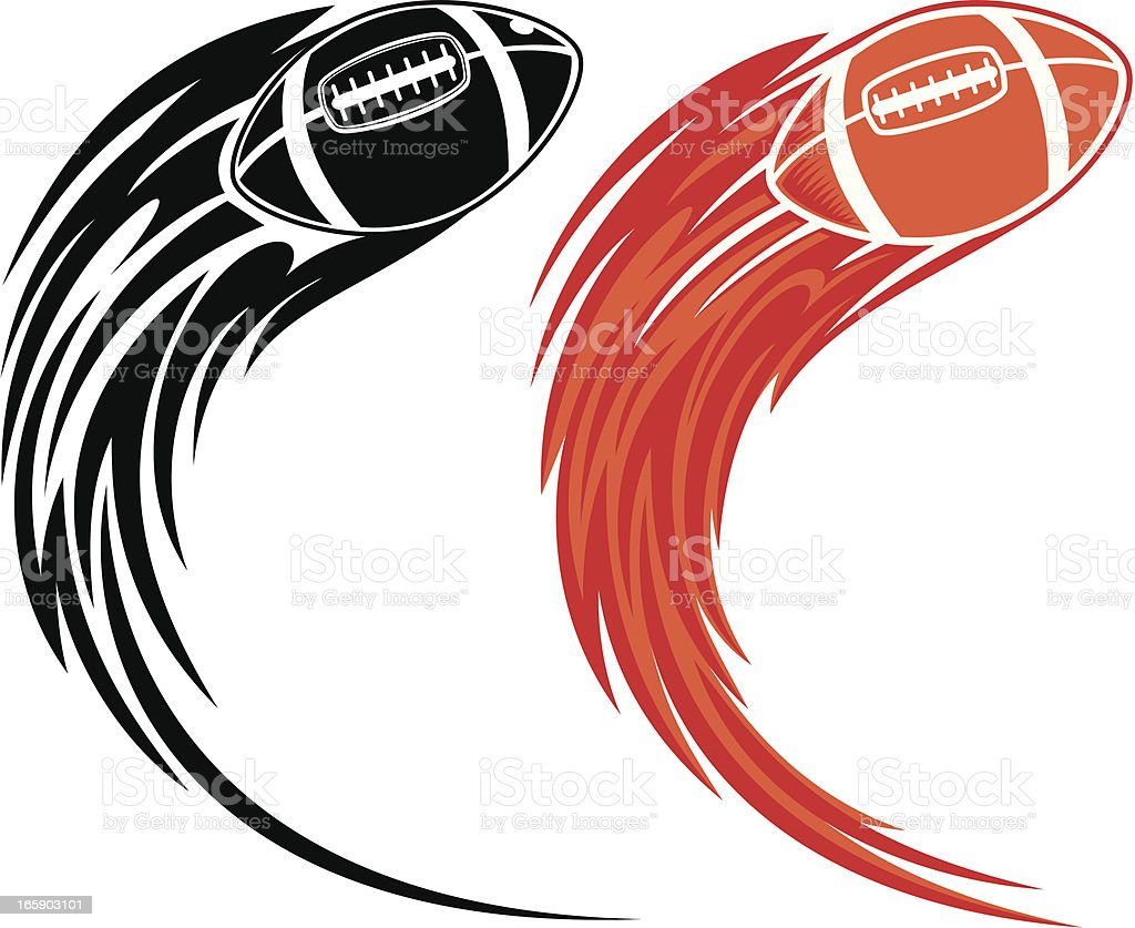 american football stock vector art more images of abstract rh istockphoto com football americain vector free download american football vectors