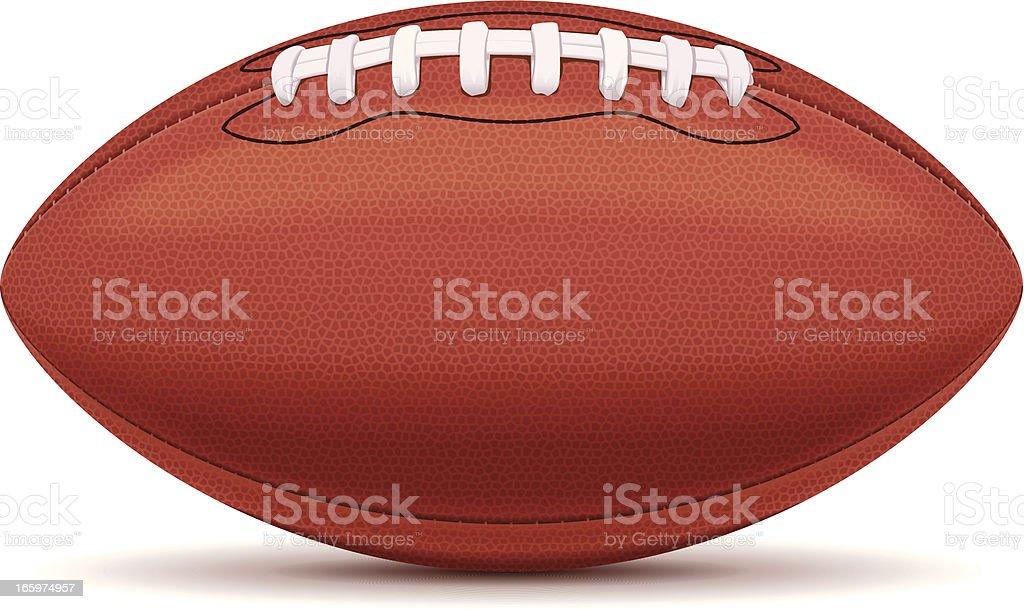 American Football vector art illustration