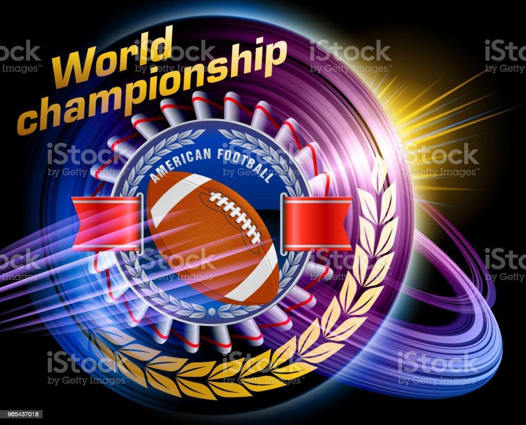 American football american football - stockowe grafiki wektorowe i więcej obrazów dokument royalty-free