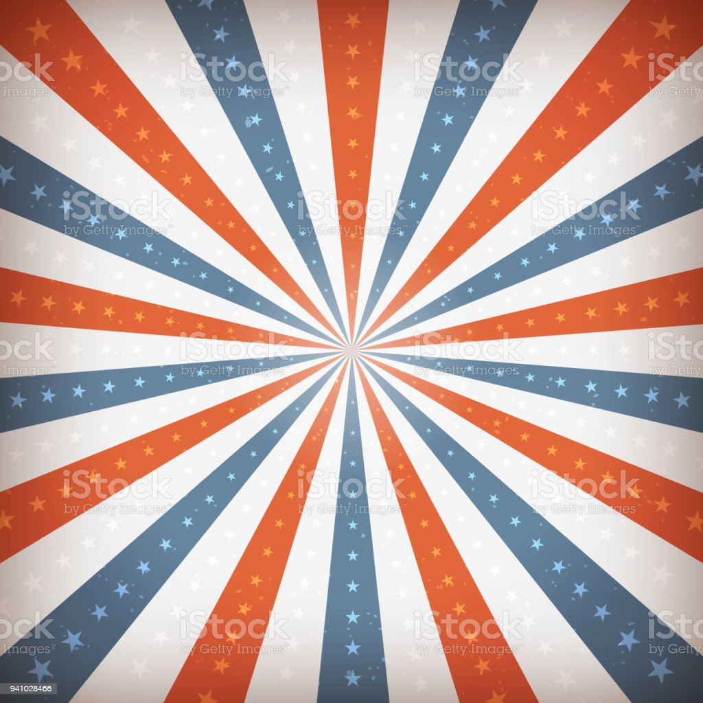 American Fourth Of July Background Stock Vector Art More Images Of