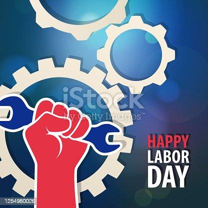 istock American Labor Day 1254980026