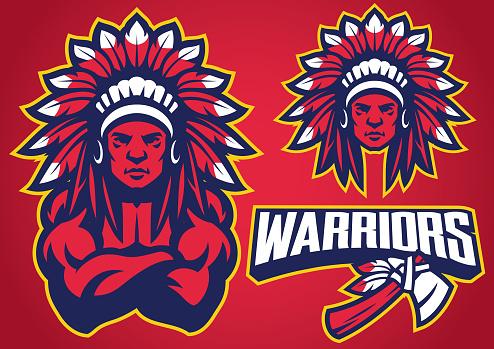 American Native Warrior