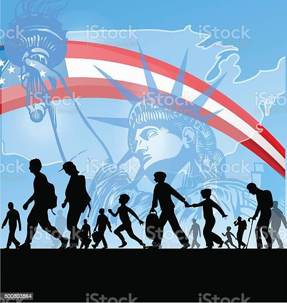 American people immigration vector id500803864?b=1&k=6&m=500803864&s=612x612&h=dbmux99r643p1euzpea2dhogfvv31tyw cuanmbdzlg=