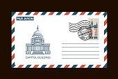 american postal envelope