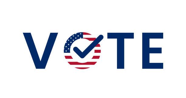 us american presidential election 2020 - ballot stock illustrations