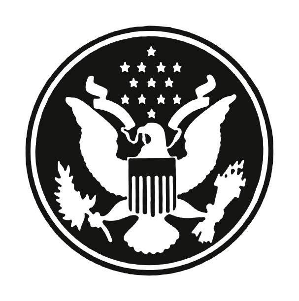 American Presidential Symbol American Presidential Symbol president stock illustrations