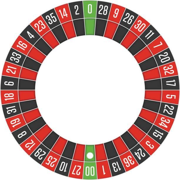 ilustrações de stock, clip art, desenhos animados e ícones de american roulette wheel. - enjoying wealthy life