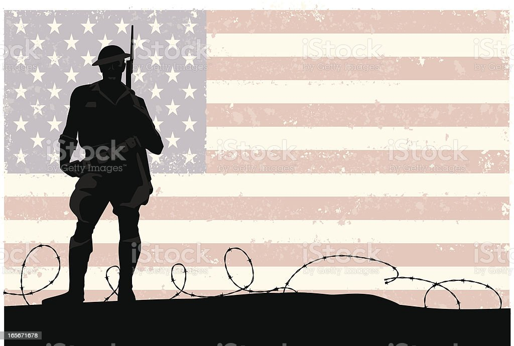 American Soldier royalty-free american soldier stock vector art & more images of adult