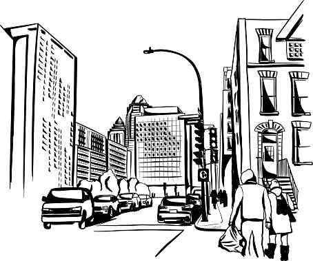 American Street Scene Ink