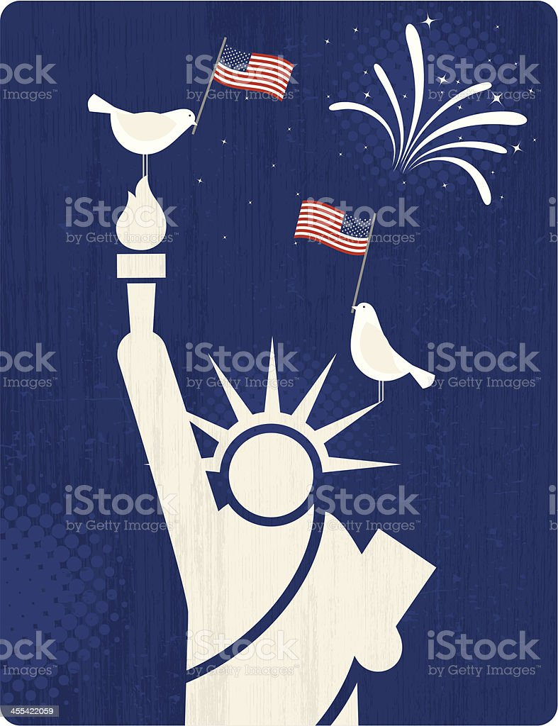 American Symbols Stock Vector Art More Images Of American Flag
