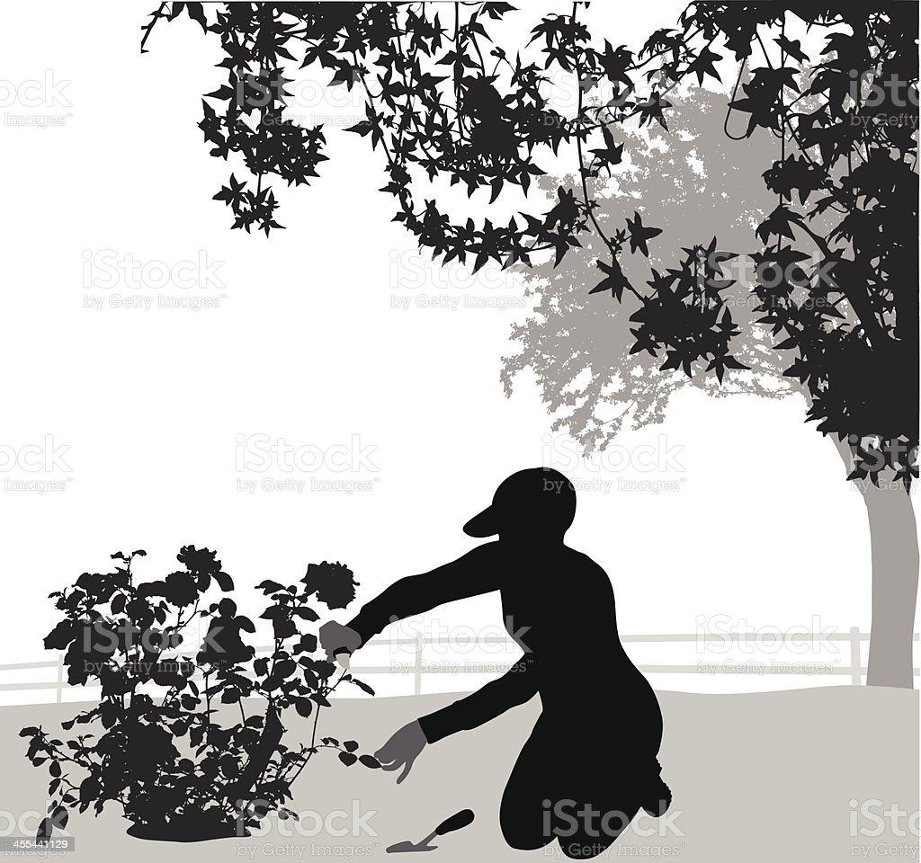 America's Hobby vector art illustration