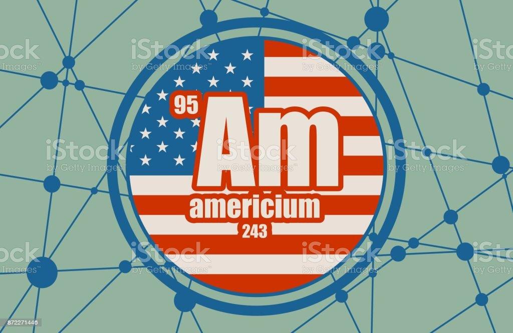 アメリシウムの元素 - アイコン...