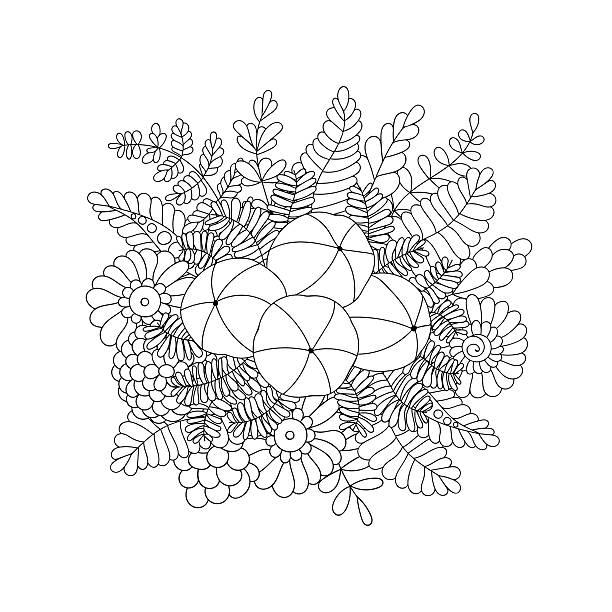 Amla isoliert doodle Vektor-Bild – Vektorgrafik