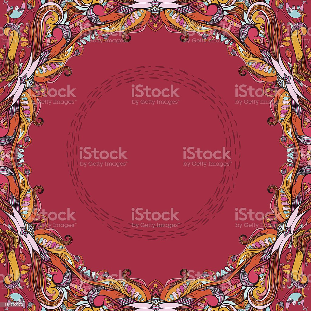 Among the autumn royalty-free stock vector art