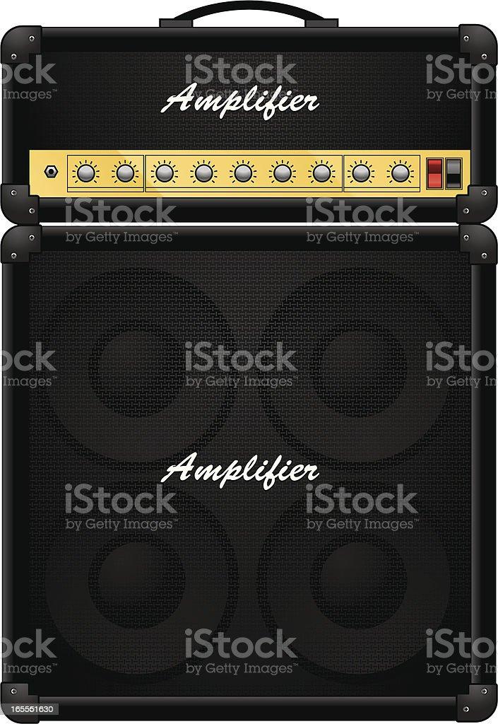 amplifier vector art illustration