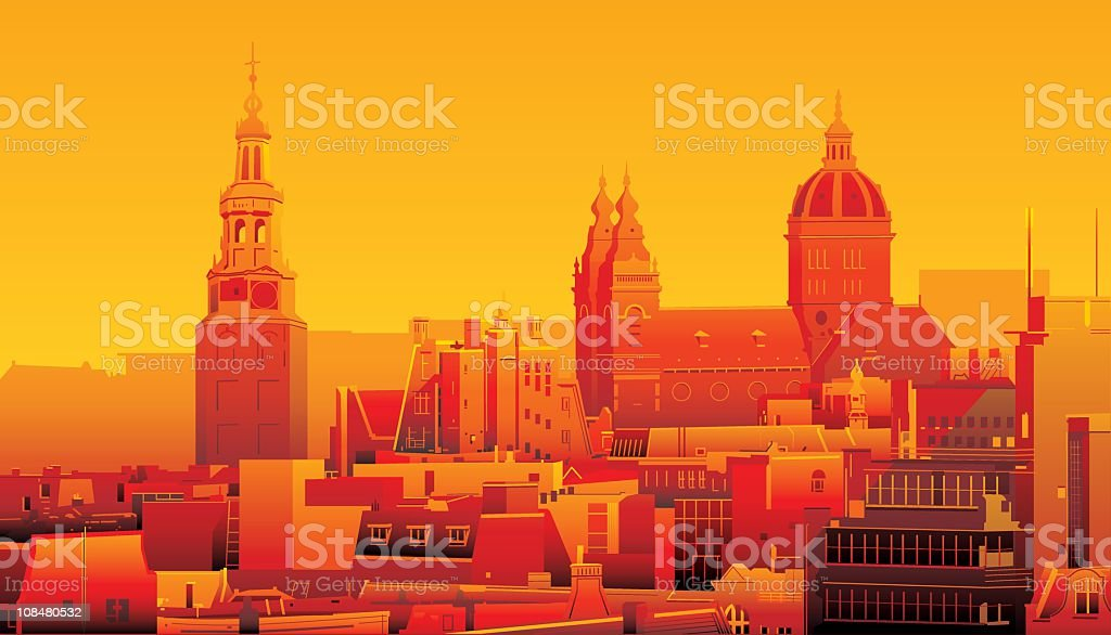 Amsterdam, Netherlands royalty-free amsterdam netherlands stock vector art & more images of amsterdam