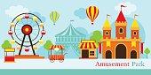 Amusement Park, Carnival, Fun Fair