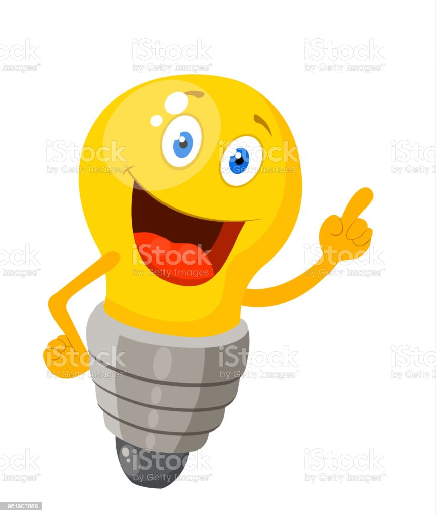 amusing lightbulb royalty-free amusing lightbulb stock vector art & more images of brainstorming