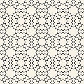 An abstract geometric background in white and black