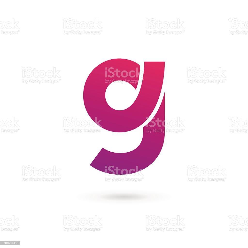 Ilustración de Letra G 9 De Iconos De Elementos De Diseño De ...