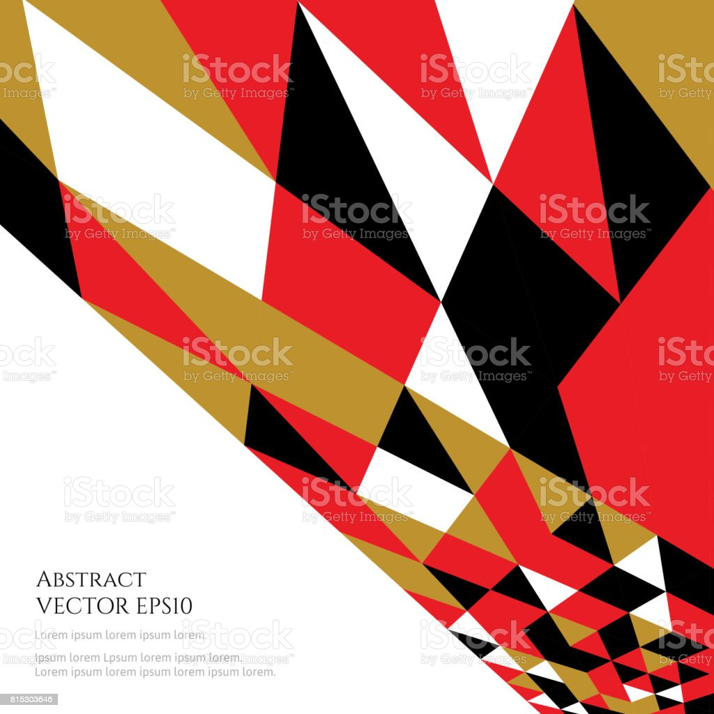 An abstract template for text. Bright contrasting colors. vector art illustration