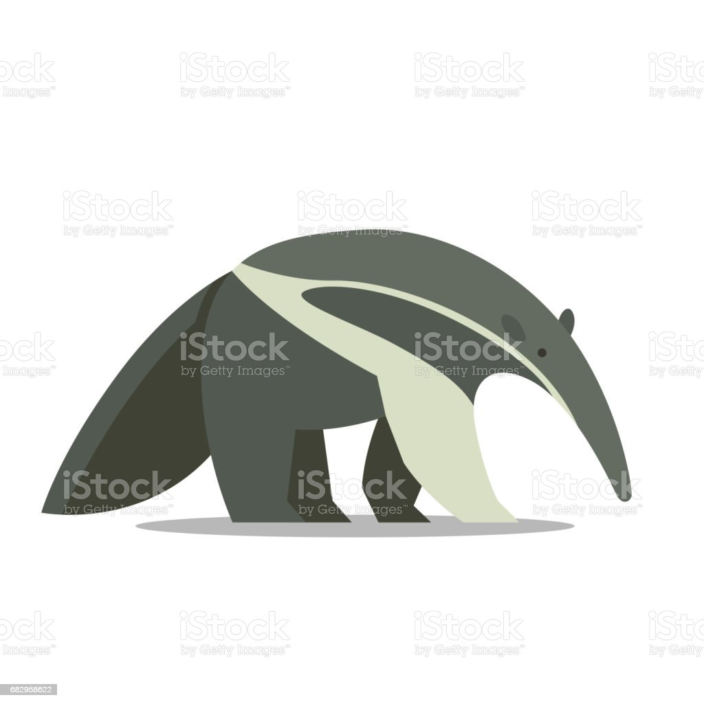 an Anteater royalty-free an anteater stock vector art & more images of animal