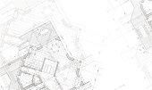 abstract vector blueprint