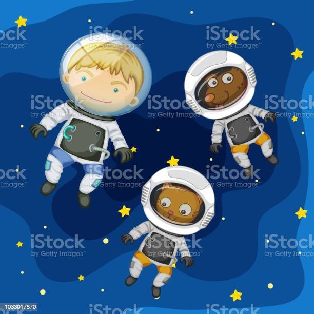 An astronaut and pet in space vector id1033017870?b=1&k=6&m=1033017870&s=612x612&h=tbjbyww xg ysse4bb2anwtfvi33c7af4a7vtqzquuy=