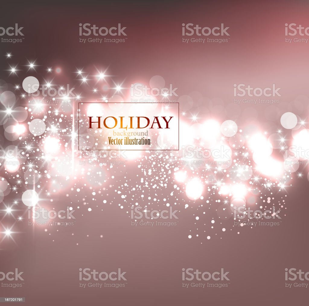 An elegant Christmas card design with lights and snow royalty-free an elegant christmas card design with lights and snow stock vector art & more images of abstract