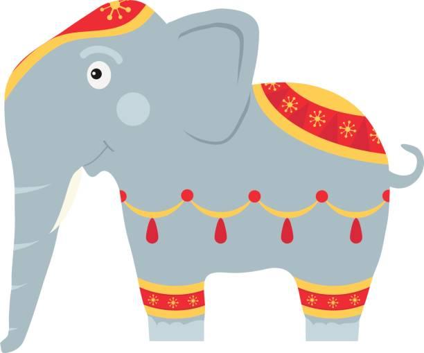 ein elefant, malte ein indischer elefant - stammes tattoos stock-grafiken, -clipart, -cartoons und -symbole