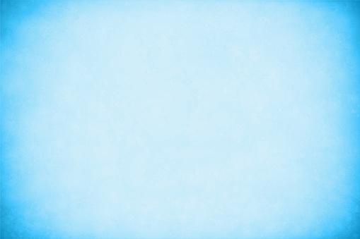 An empty light blue coloured textured effect grunge vector background
