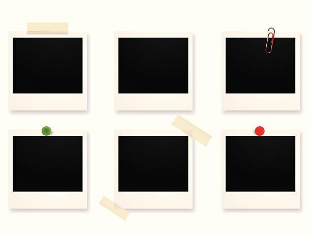 포토서제스트 설정 - 종이 클립 stock illustrations