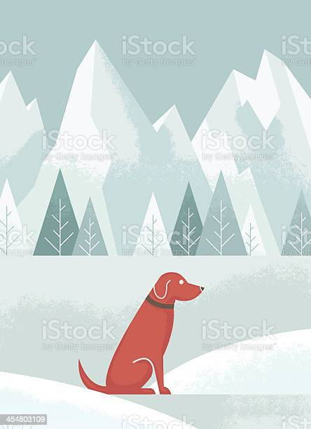 An illustration of a brown dog in the snow vector id454803109?b=1&k=6&m=454803109&s=612x612&h=gv142echqngzfraszxsyenuqxjncrw kfvm48o9hghs=