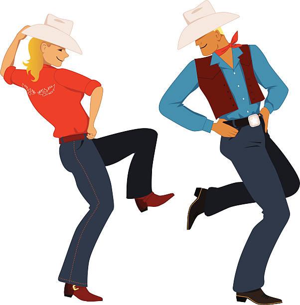 Royalty Free Line Dance Clip Art, Vector Images ...