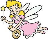 Great illustration of a tooth fairy. Perfect for a dental or child illustration. EPS and JPEG files included. Be sure to view my other illustrations, thanks!
