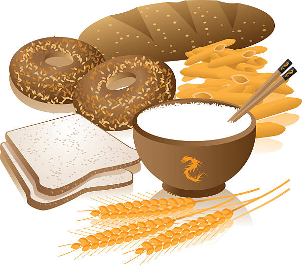 Whole Grain Clip Art, Vector Images & Illustrations - iStock
