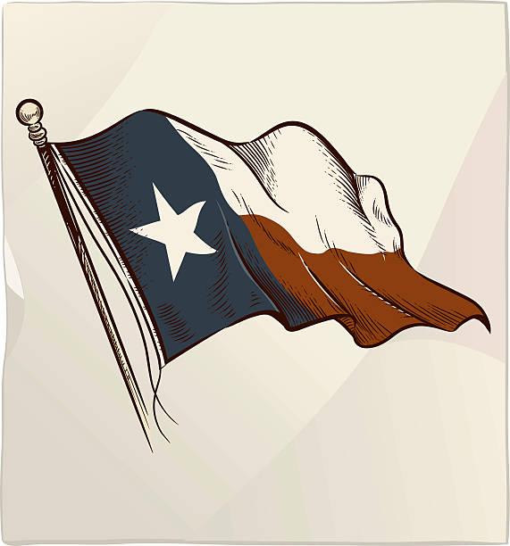 Royalty Free Texas Flag Waving Clip Art Vector Images
