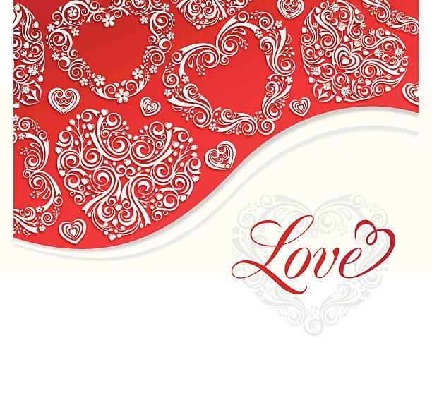 illustrazioni stock, clip art, cartoni animati e icone di tendenza di amore invito - love word